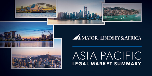 Major, Lindsey & Africa's Asia-Pacific Legal Market Summary