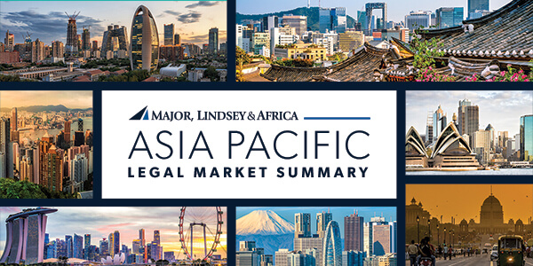 Major, Lindsey & Africa's Asia Pacific Legal Market Summary And Partner Moves Newsletter